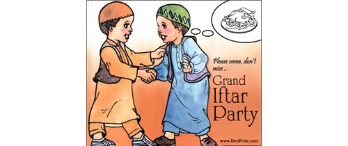 Please come don't miss Iftar party