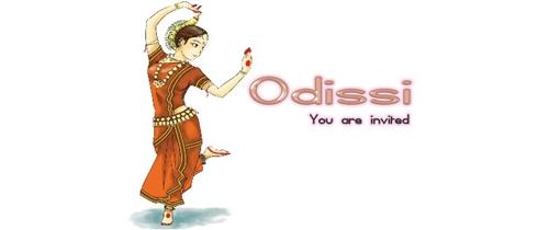Odissi  Dance event Invitation