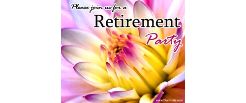 Free Retirement Party Invitation Card Online Invitations – Free Retirement Party Invitations