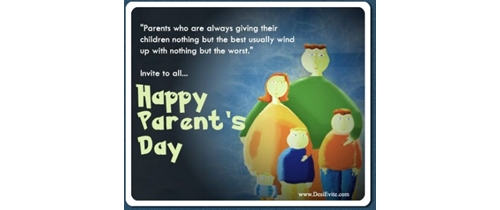 Please Come and enjoy Parents Day party tonight