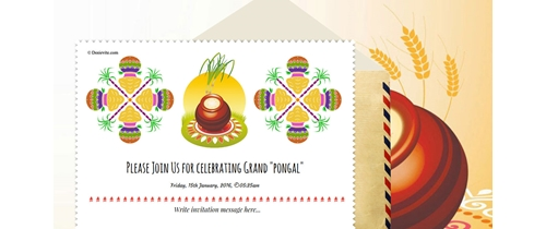 Celebrating Grand Pongal