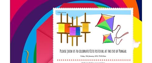 Joing us to enjoy Kite festival