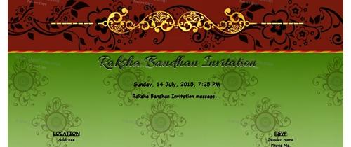 Raksha Bandhan Invitation
