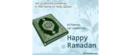 Let's celebrate Ramadan