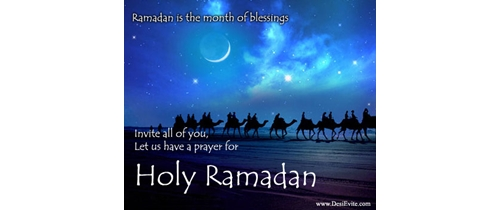 Ramadan the month of blessing