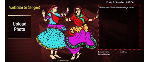 An evening of traditional Indian music, dance and food