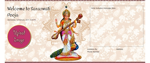 Vasanta panchami:Birthday of Goddess Saraswati
