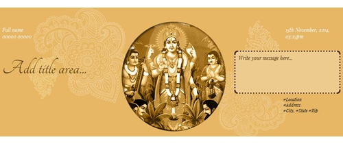 Free Satyanarayan Puja Invitation Card & Online Invitations