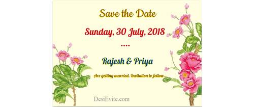 Save-the-date-invitation-card