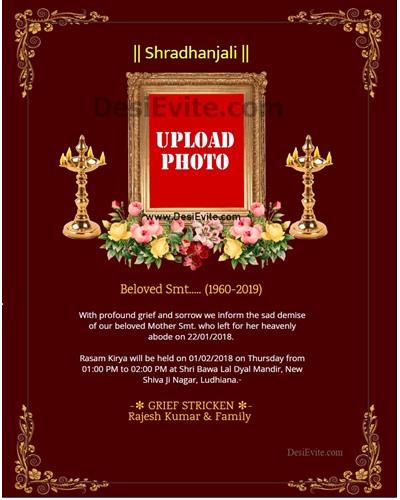 Shradhanjali-Invitation-Card