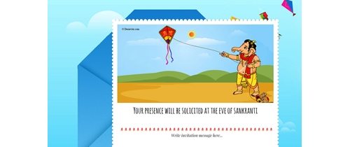 Celebrate Sankranti festivals with kites  please join us