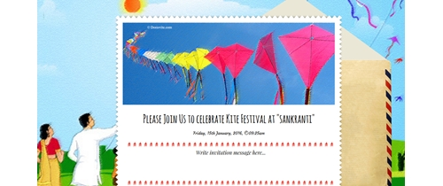 enjoy Kite festival with us