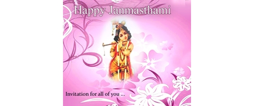 Please join us for Janmashtami Puja