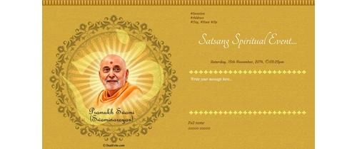 Spiritual Event of Swaminarayan Ji
