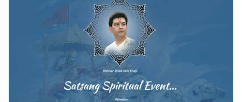 Event of Rishivar Shree Kirti Bhaiji