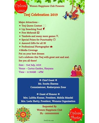 teej-invitation-card-for-womens-club