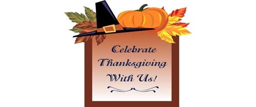 Celebrate Thanksgiving Invitation