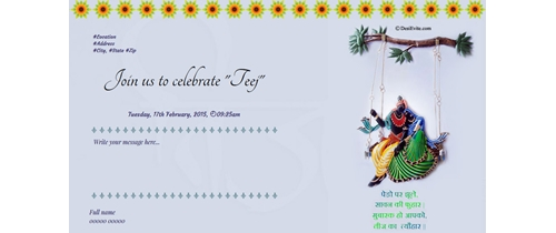 Join us to celebrate Teej