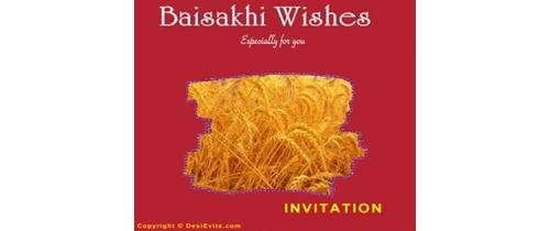 Baisakhi Invitation