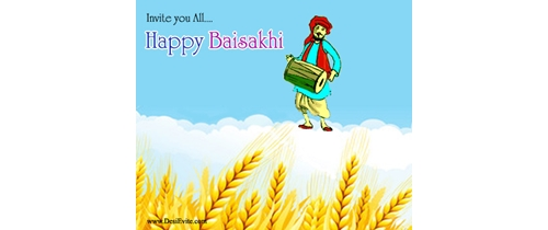 Invite you all on Baisakhi