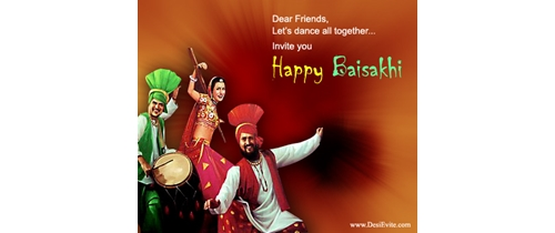 Lets dance togather on Baisakhi