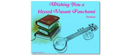Let's Celebrate Vasanta Panchami