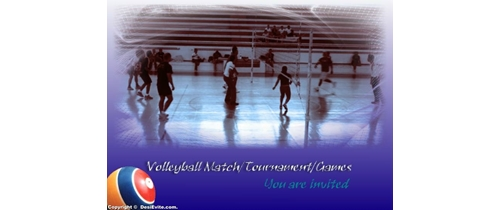 Volleyball match/tournament/ga