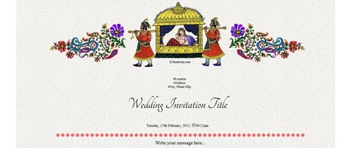 A Marriage ceremony You are invited