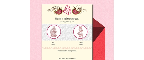Free wedding invitation card online invitations invitation with image your presence will be solicited stopboris Image collections
