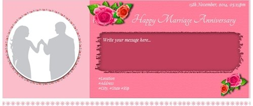 Free Wedding Anniversary Invitation Card Online Invitations
