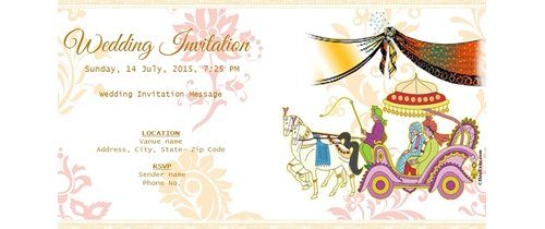 You and your associates are cordially invited for Wedding ceremony