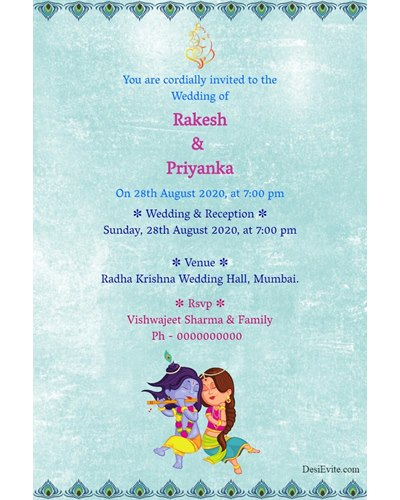 wedding-invitation-card-radha-krishna-theme