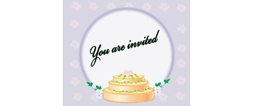 You are invited Wedding anniversary Invitation