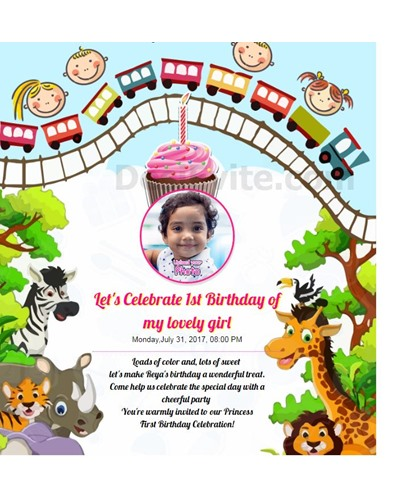 You're warmly invited to our Princess First Birthday Celebration!