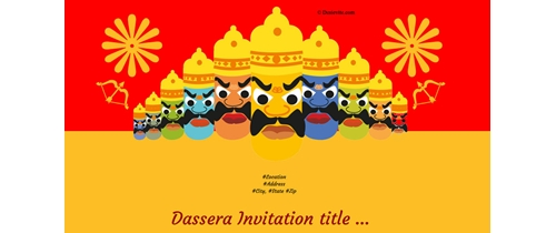 Celebrate Dassera with joy and happiness