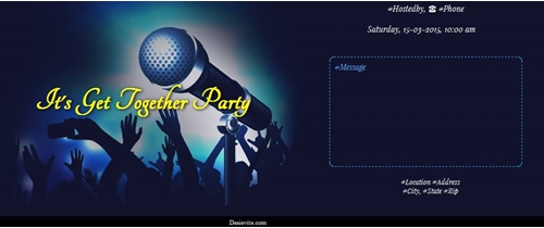 It`s Get Together Party!!!