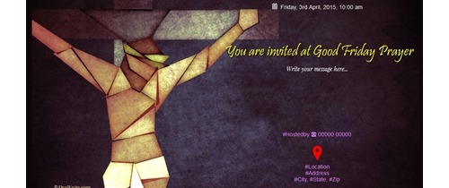 You are invited at Good Friday Prayer