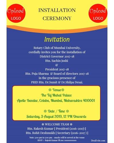 installation-ceremony-invitation-card
