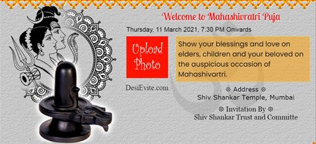 Welcome to Mahashivratri Puja