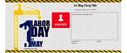 Let's celebrate the labor day