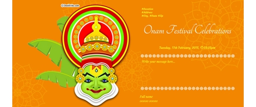 Celebration of Onam
