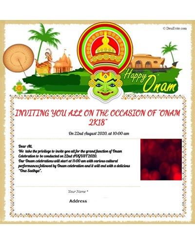 Let's Celebrate Onam