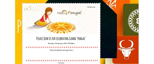 Come and join on Pongal festivals