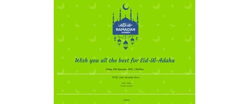 Eid al Fitr/Ramdan