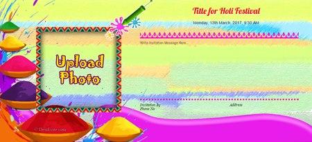 Let's Celebrate very bright,colourful and joyful holi.