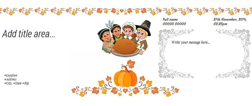 Come and enjoy the Thanksgiving Dinner party