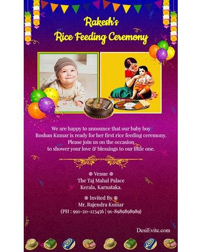 traditional-hindu-rice-feeding-invitation-card
