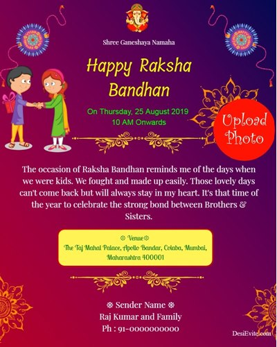 traditional-rakshabandhan-invitation-card